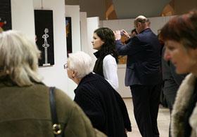 Ausstellung von Künstlerinnen des Exedra Frauennetzwerks Altes Rathaus, Linz, 2006 Foto: Reinhard Winkler