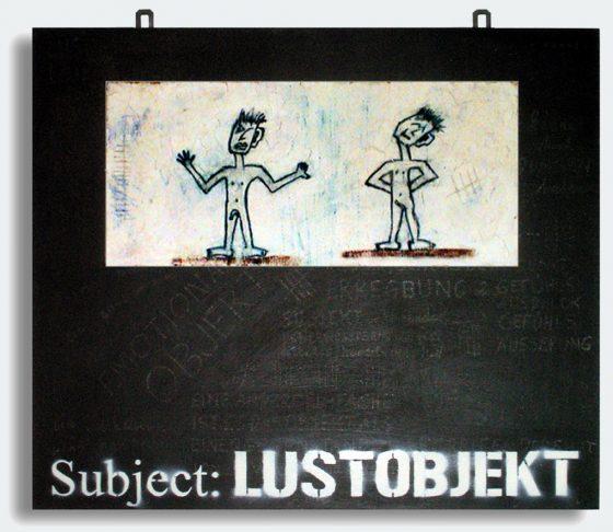 """""""Lustobjekt"""", 49,5 x 60 cm, 2006"""