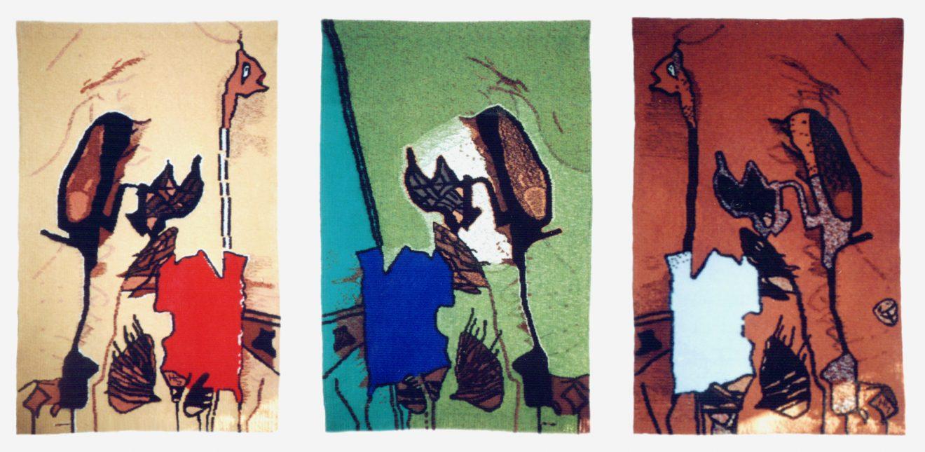 SenorenInnen Heim Grein_Gobelins_triptychon