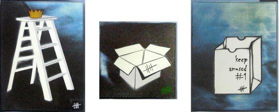Stencil Art auf x-Ray