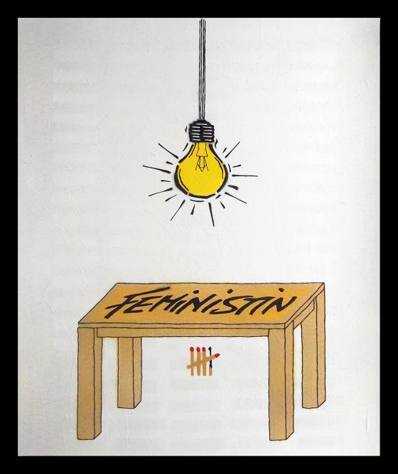 """""""beleuchtet"""", Mischtechnik auf X-Ray, 43 x 35,5 cm, 2019"""